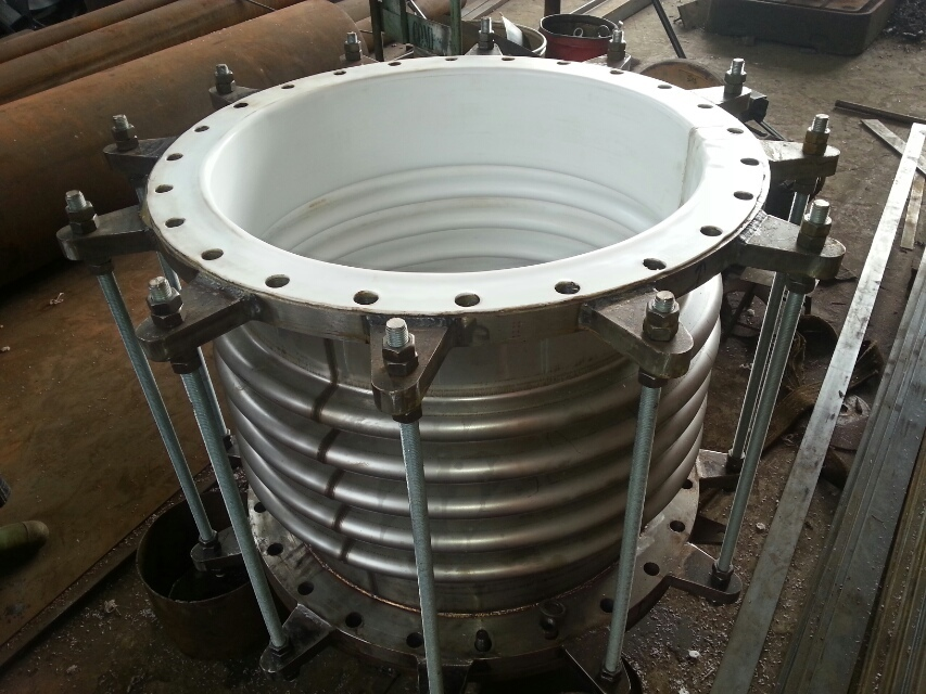 Ptfe teflon lined stainless steel expansion joint gt